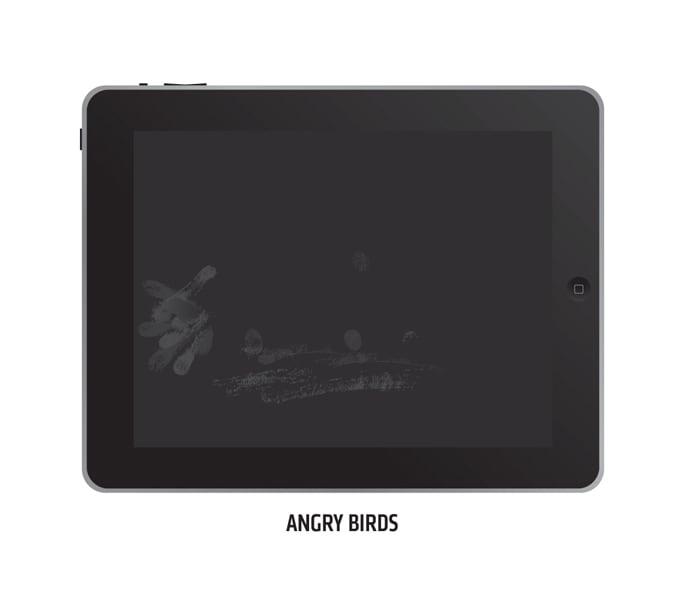 Отпечатки пальцев на iPad