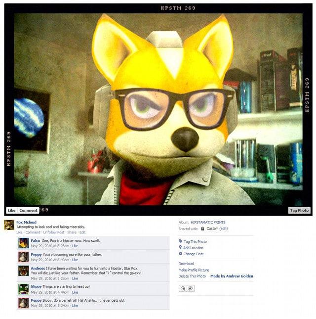 Fox Mcloud Video Game Character Facebook Profiles