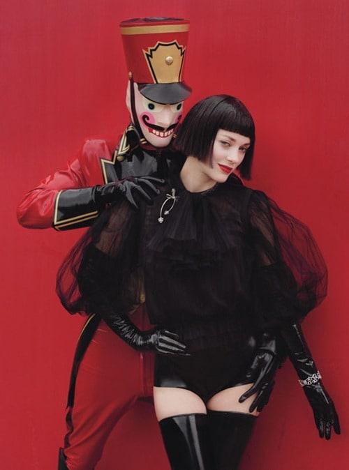 marion cotillards theatrical w magazine december 2012 cover spread 4