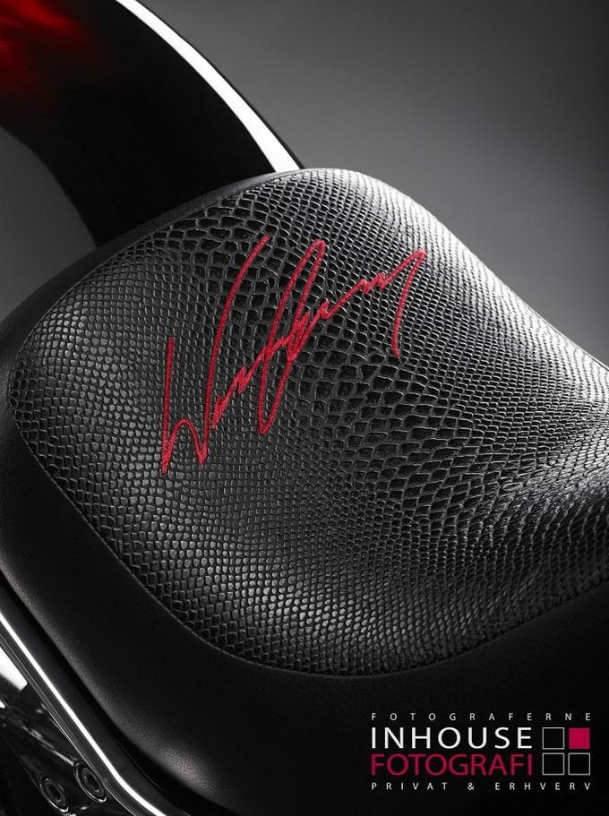 2012 Lauge Jensen 'Wayne Rooney' Custom Motorcycle