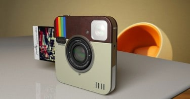 Polaroid introduced the concept Instagram Socialmatic Camera