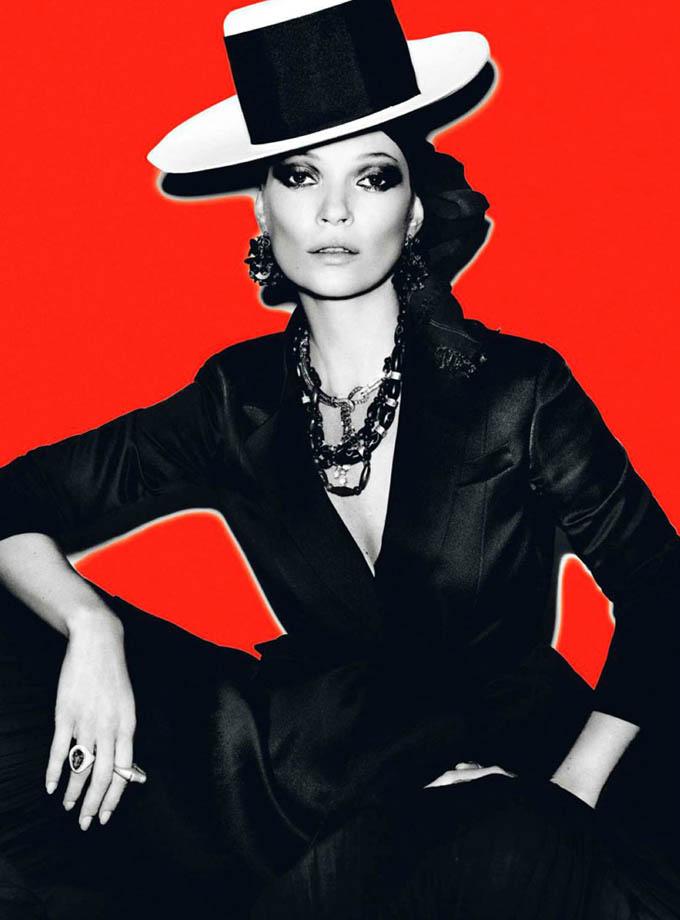Kate Moss in Vogue Paris