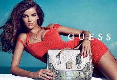 Natasha Barnard in new Guess advertising campaign