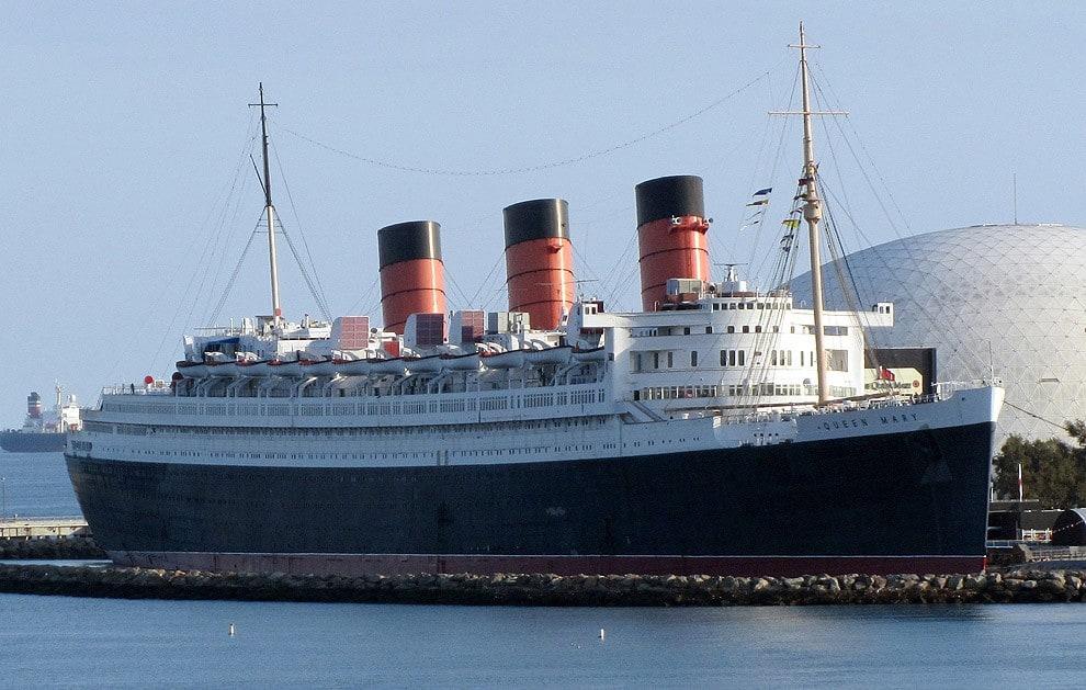 2. Queen Mary, Long Beach, California, USA