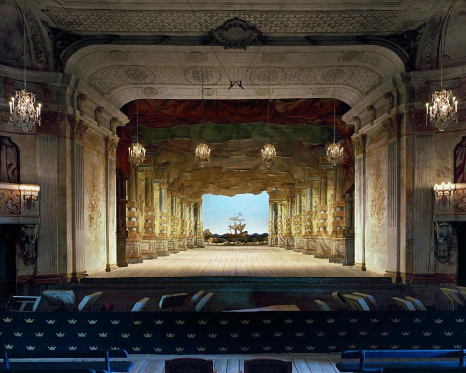 Drottningholm Palace Theatre, Stockholm, Sweden, 2008