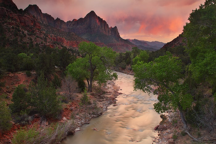 Sunset and the Watchman