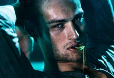 Douglas Booth for Flaunt magazine