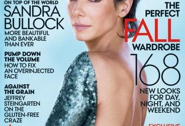 Sandra Bullock for Vogue US