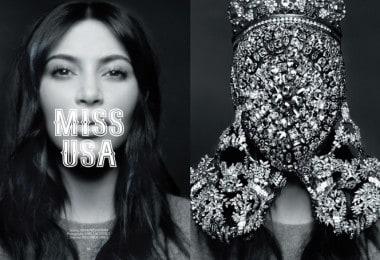 Kim Kardashian for CR Fashion Book