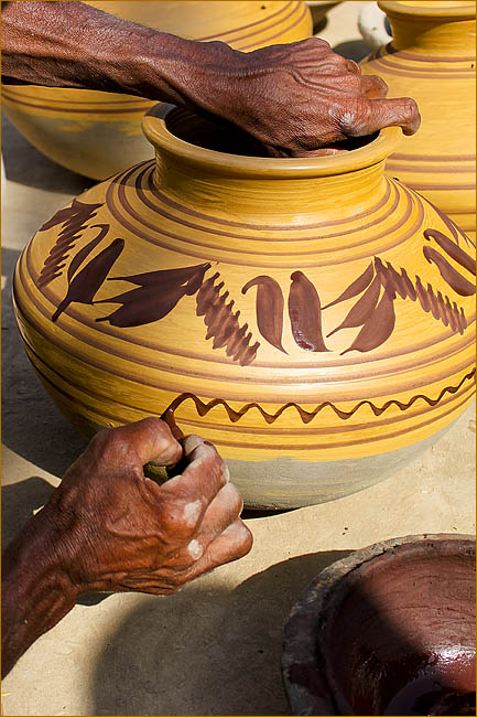 Pictures of Potters and Pottery