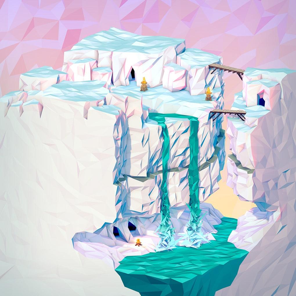 3D Geometric Landscapes by JR Schmidt10