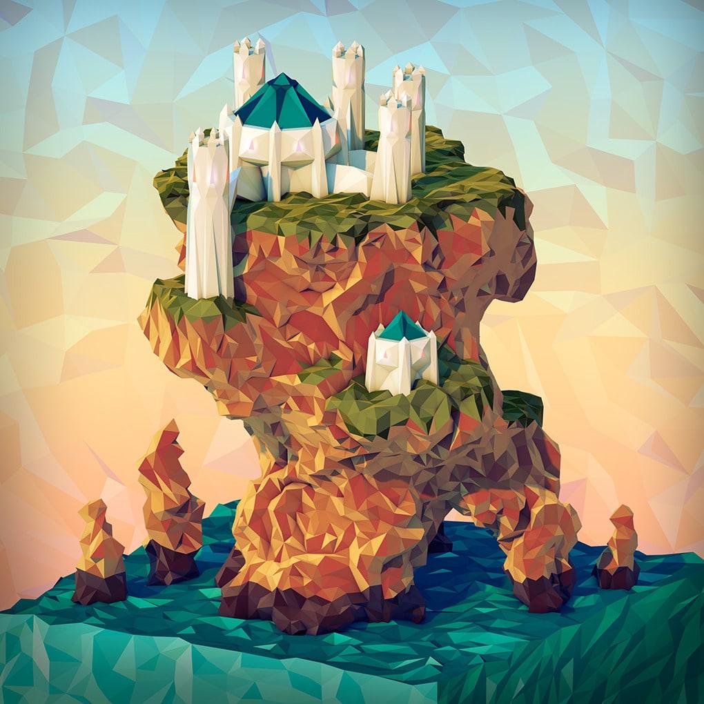 3D Geometric Landscapes by JR Schmidt13