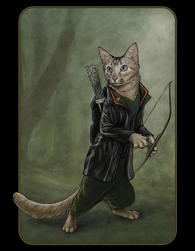 Catniss-by-Jenny-Parks