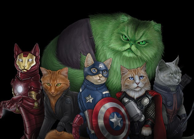 Cats-as-Superheroes-by-Jenny-Parks-1