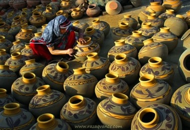 Awesome Pictures of Potters and Pottery