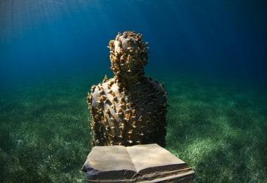 """Museum of underwater sculptures """"MUSA"""""""
