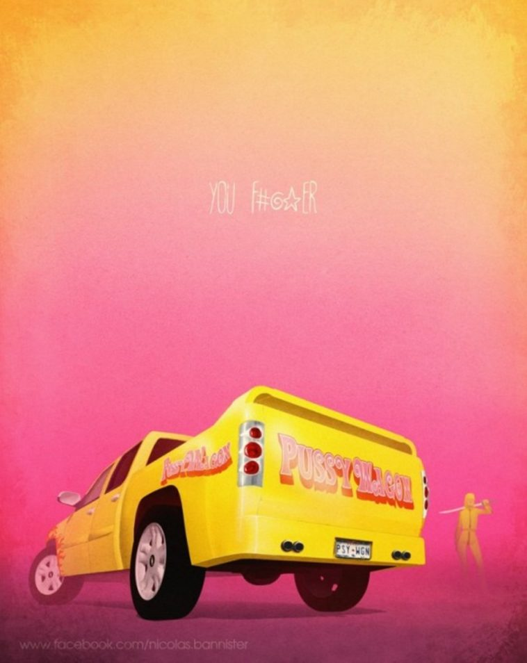famous movie vehicles by nicolas bannister 6