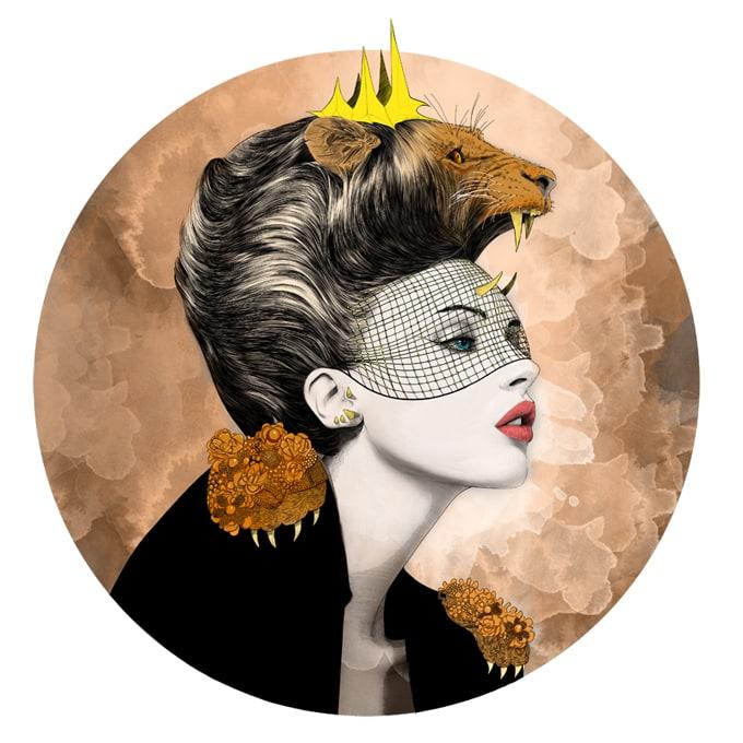 mustafa-soydan-astro-illustrations-leo