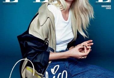 Candice Swanepoel for ELLE UK