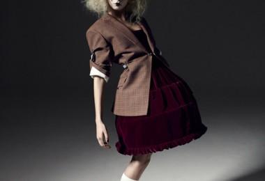 Cara Delevingne for i-D Magazine 1