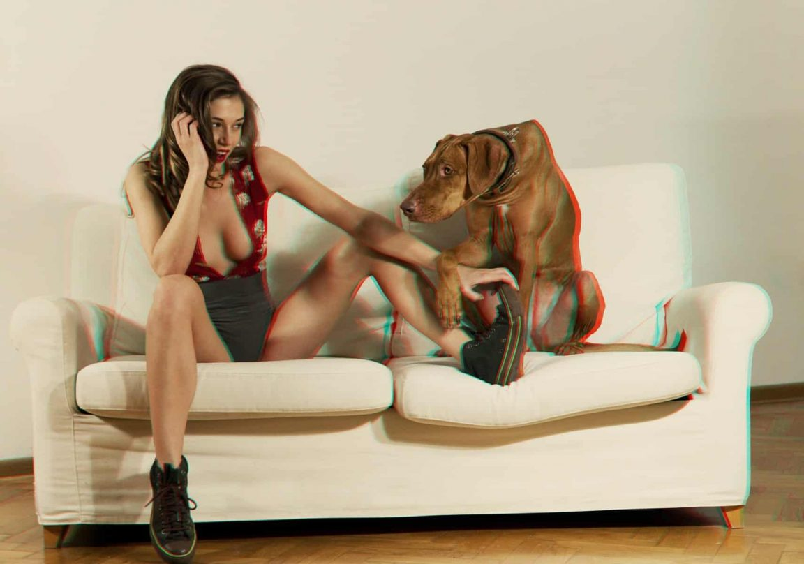 Home alone MATJAZ TANCIC 3d stereo FASHION EDITORIAL 1 of 4