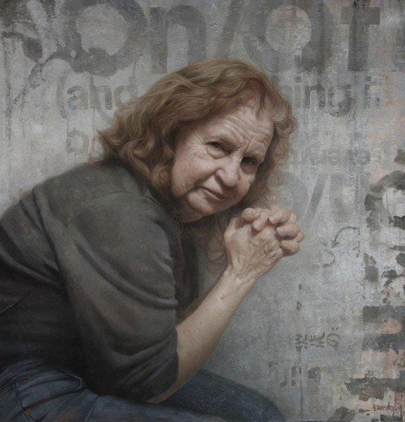Roberta-Joy-Kassan-Oil-on-panel-painting-by-David-Jon-Kassan