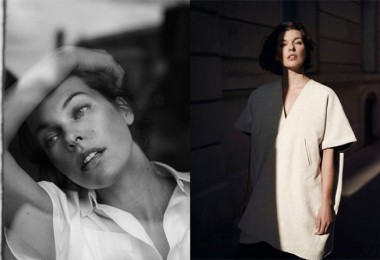 Milla Jovovich for The Edit by Net-A-Porter 1