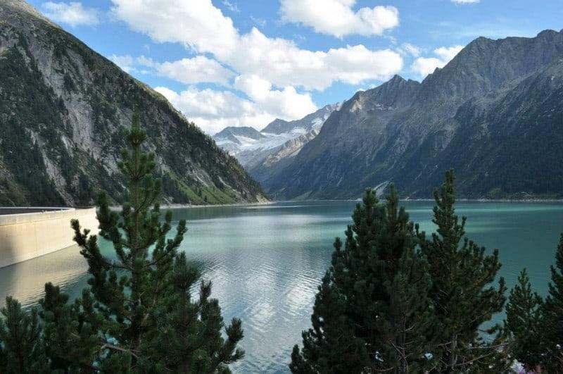 3 lake Schlegeis Top 10 Most Beautiful Nature Spots Around the Austria