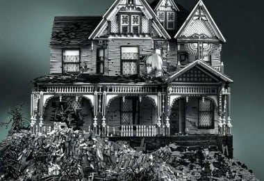 Abandoned Houses Made Entirely of LEGO by Mike Doyle