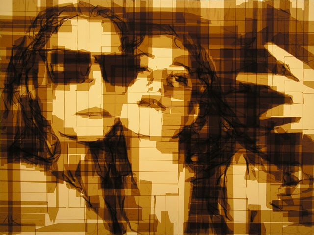Amazing-Graphic-Arts-Made-With-A-Roll-Of-Packing-Tape-4