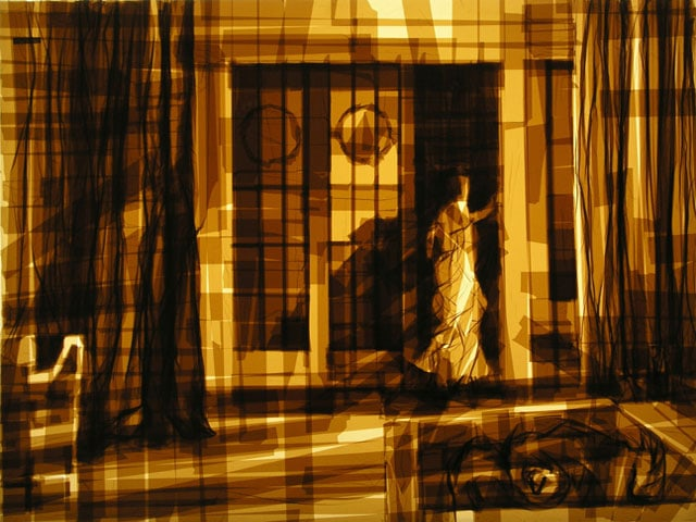 Amazing-Graphic-Arts-Made-With-A-Roll-Of-Packing-Tape-9