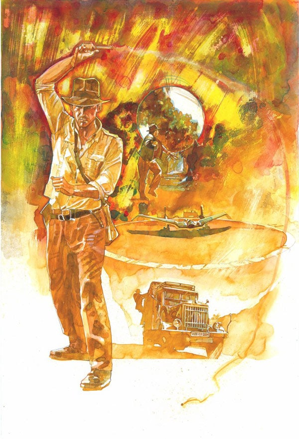 Indiana_Jones_Masterpieces_by_markmchaley