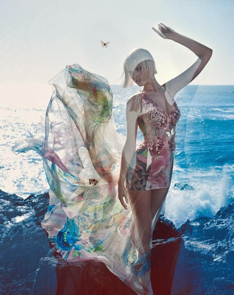 Toni Garrn for Blumarine Spring 2014 Full-003