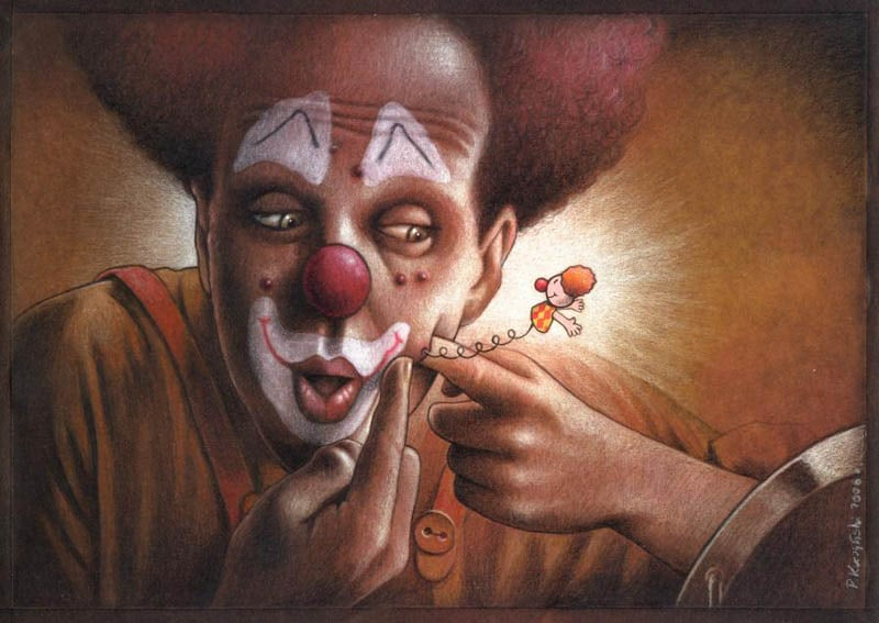 30 Thought Provoking Satirical Illustrations By Pawel Kuczynski