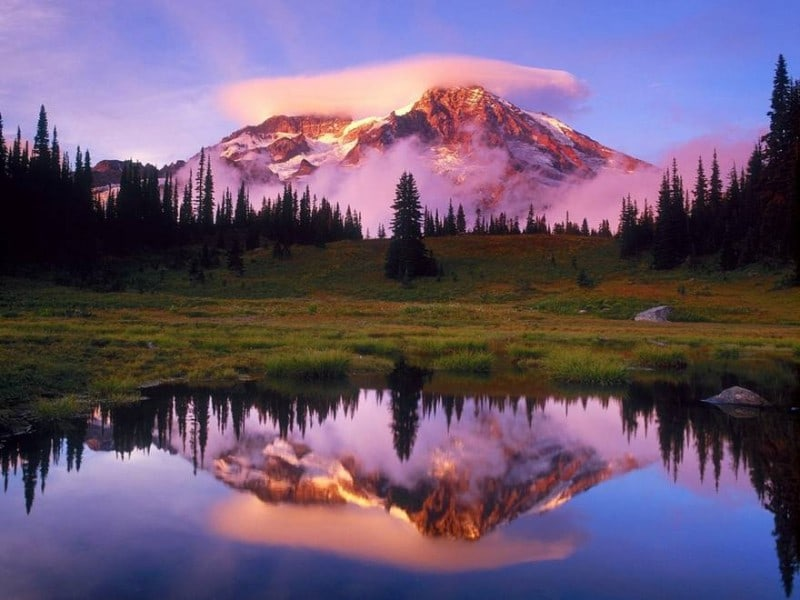landscapes mount rainier Top 20 Earth Pictures found on StumbleUpon
