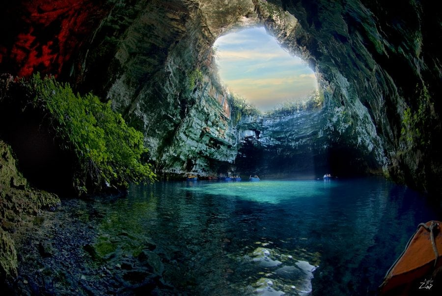 melissani lake greece 2