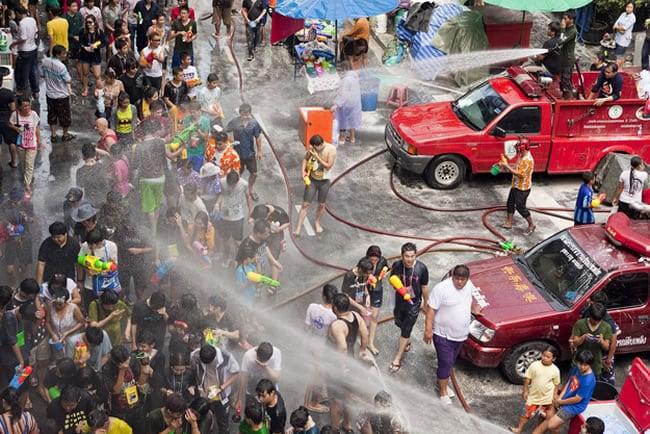 Songkran Water Festival — Chiang Mai, Thailand