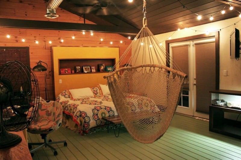 bedroom-hammock