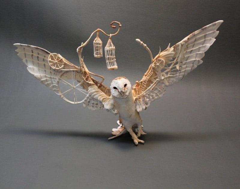 Barn-Owl-with-Mechanics