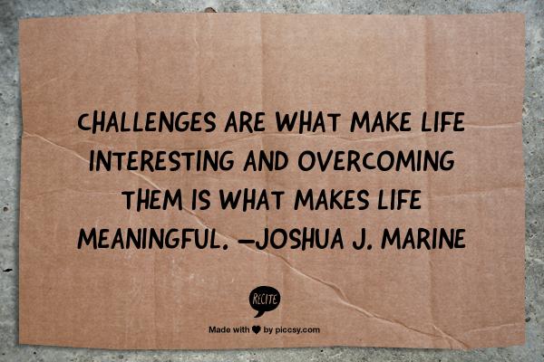 Joshua Marine Quote