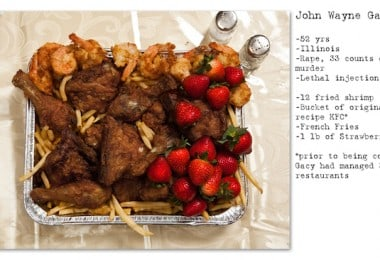 Death Row Inmates Last Meals by Henry Hargreaves