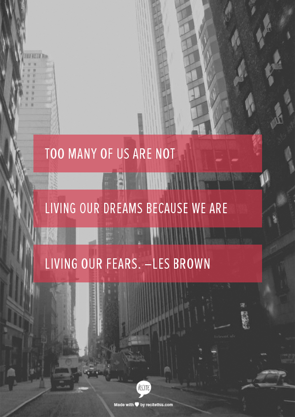 Les Brown Quote