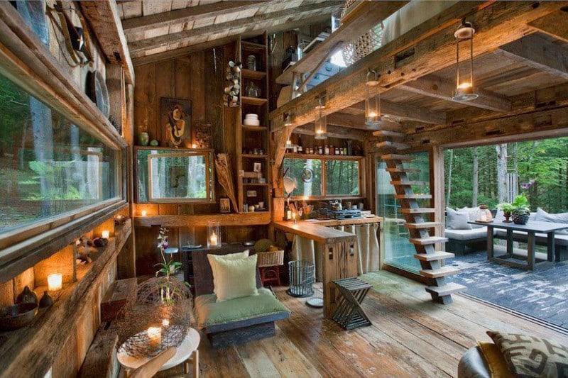 Cabin Interior Geniusness