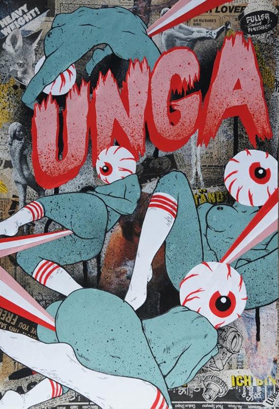 Broken-Fingaz-Crew-Street-Art-by-Unga