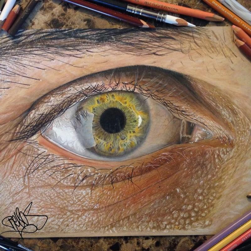 Realistic Eyes Redosking