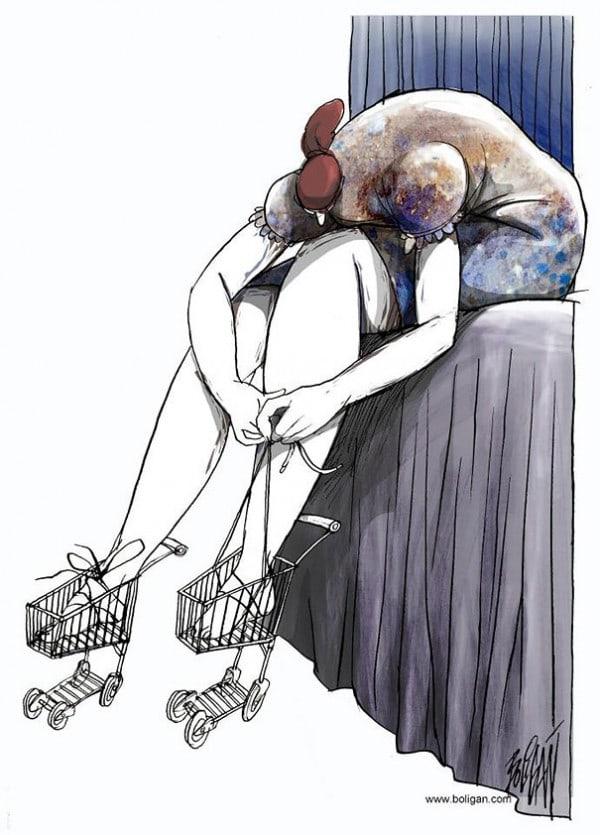 Surreal-Contemporary-Cartoons-by-Angel-Boligan-16-600x835