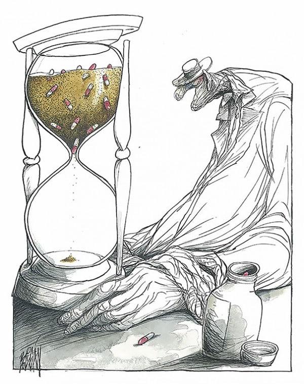 Surreal-Contemporary-Cartoons-by-Angel-Boligan-19-600x758