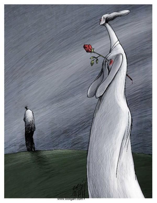 Surreal-Contemporary-Cartoons-by-Angel-Boligan-22-600x776