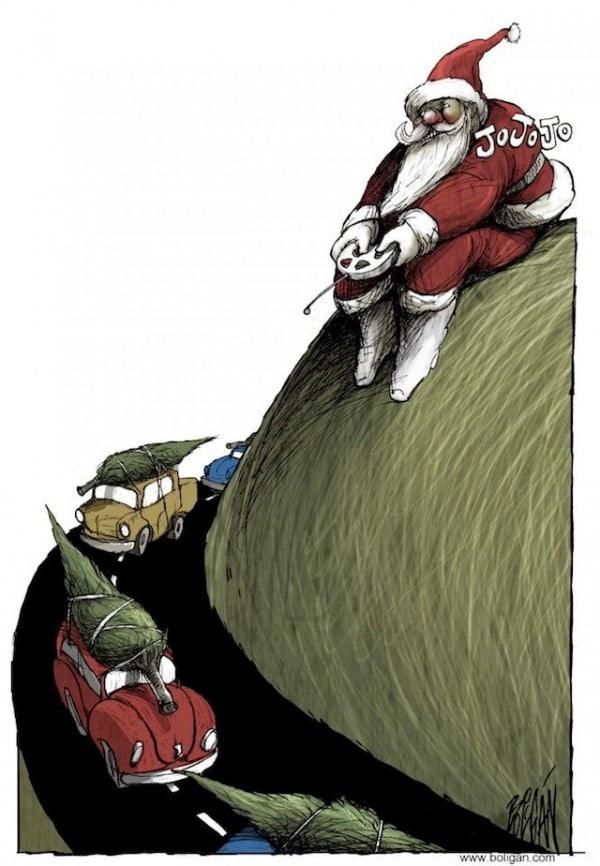 Surreal-Contemporary-Cartoons-by-Angel-Boligan-7-600x866