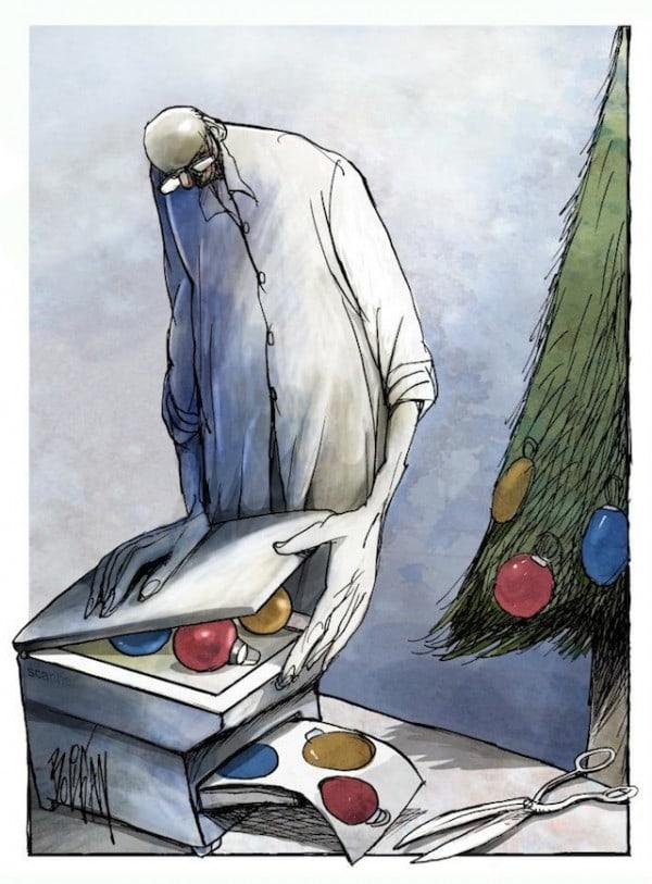 Surreal-Contemporary-Cartoons-by-Angel-Boligan-8-600x813